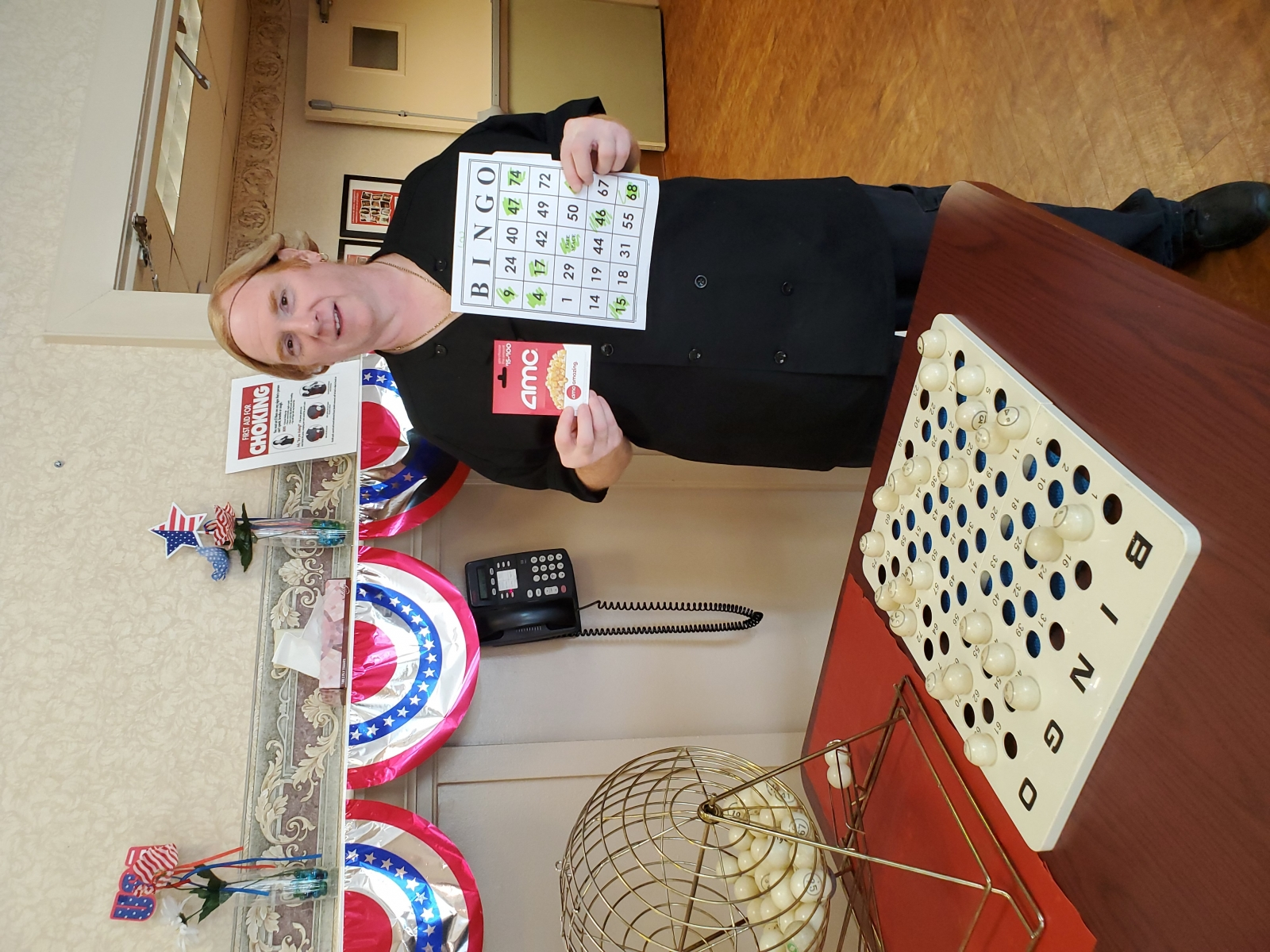 Crest-Pointe-Employee-Survey-Success-Week-July-2-Bingo-Winner-Lou-Dietary