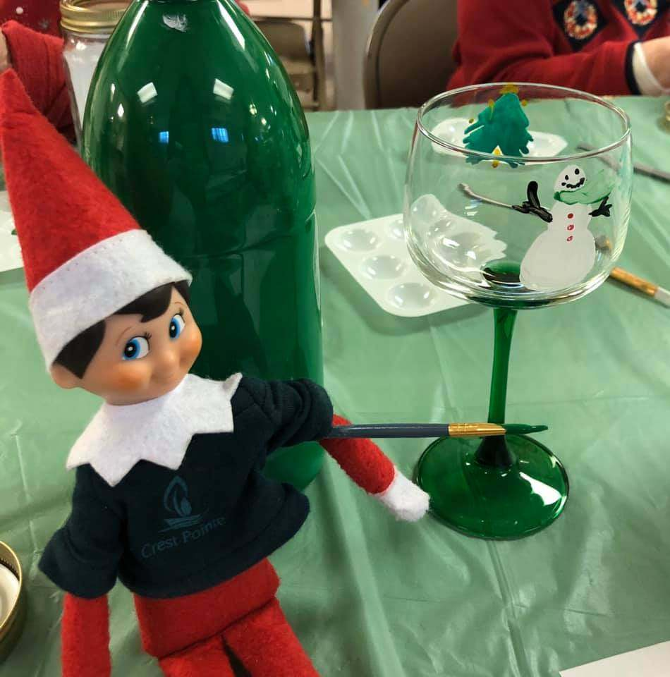 Crest-Pointe-Holiday-Luncheon-And-Painting-Good-Shepherd-Lutheran-Church-4-with-Finn